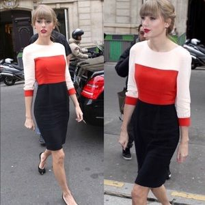 Kate Spade Parker Colorblock Dress 4